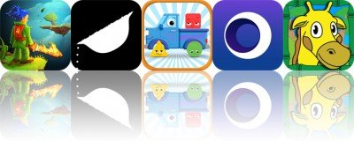 Today's Apps Gone Free: Swordigo, Salt and Pepper, Tiggly Shape's Got Talent and More