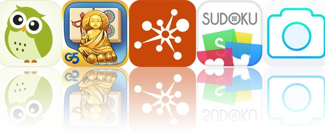 Today's Apps Gone Free: Matcha, Mahjong Artifacts, DesignJot and More
