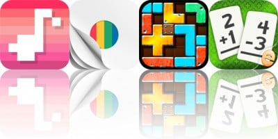 Today's Apps Gone Free: Harmony 3, ShapeThat, Slide Tetromino and More