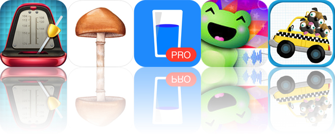 Today's Apps Gone Free: Real Metronome, Mushroom Identification, Drink Water and More