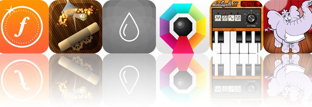 Today's Apps Gone Free: Fudget, Anodia, Relax Rain and More