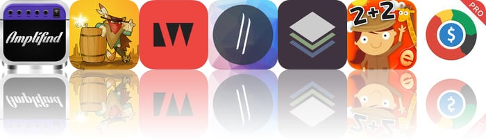 Today's Apps Gone Free: Amplifind, Gunpowder, LightWeaver and More