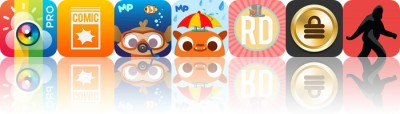 Today's Apps Gone Free: InstaWeather, iComics, MarcoPolo Ocean and More