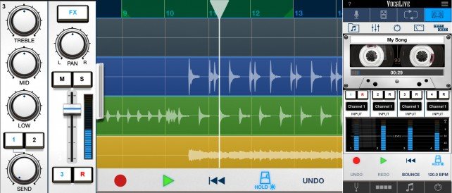 VocaLive 3 - Edit and Record for iPhone