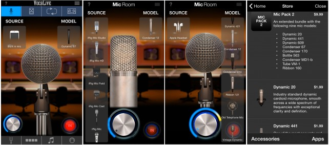 VocaLive 3 - Mic Room for iPhone