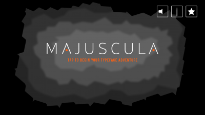 Jump Through a Typographic World in MAJUSCULA, a Gorgeous Platformer