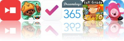 Today's Apps Gone Free: Captune, Toca Life: School, Done and More