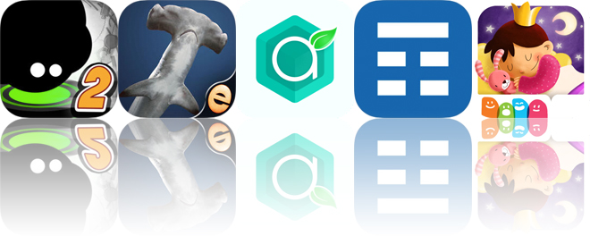 Today's Apps Gone Free: Give It Up! 2, Shark Puzzles, Antioxidants and More