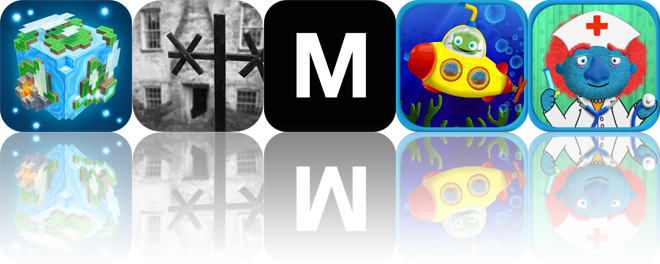 Today's Apps Gone Free: Planet of Cubes, Wardwell House, Markdown and More