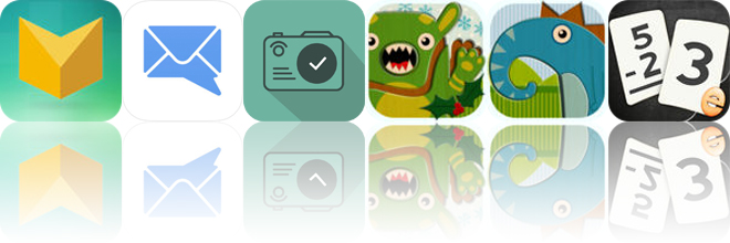 Today's Apps Gone Free: Puzzledrome, MailTime, Photo Reminders and More