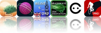 Today's Apps Gone Free: Zenge, Gravitations, Mind the Gap and More