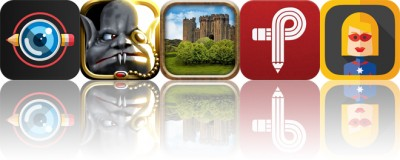Today's Apps Gone Free: Cameraxis, Shadow Vamp, Blackthorn Castle and More