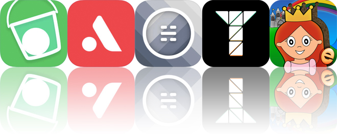 Today's Apps Gone Free: Drop Flip, Auxy, Humidity and More