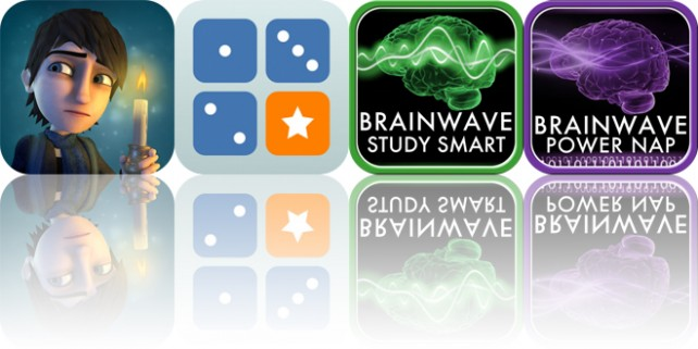 Today's Apps Gone Free: Weirdwood Manor, Diced, Brain Wave Study Smart and More