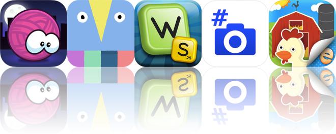 Today's Apps Gone Free: Yarn, LOOPIMAL, Word Seek HD and More