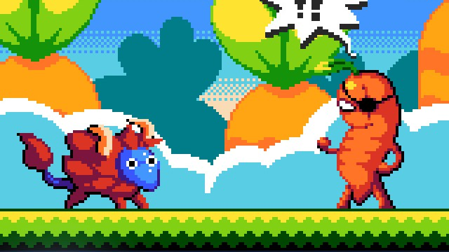 Vegetables with Attitude Duke It Out in Combo Critters