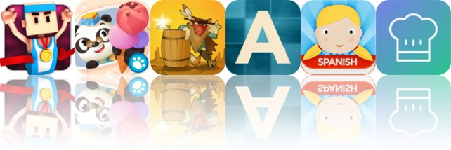 Today's Apps Gone Free: Flick Champions Summer Sports, Dr. Panda's Ice Cream Truck, Gunpowder and More