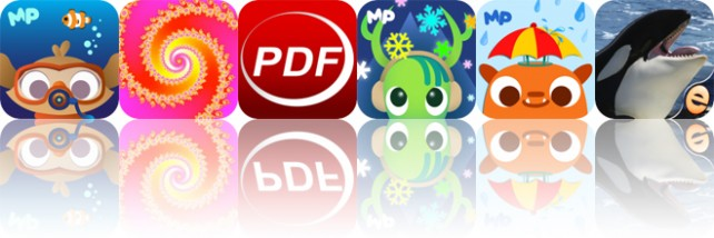 Today's Apps Gone Free: MarcoPolo Ocean, Fractals, PDF Reader and More