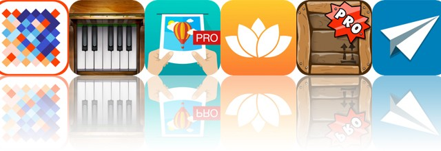 Today's Apps Gone Free: OverColor, Piano, Justframe and More