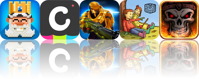 Today's Apps Gone Free: Tiny Empire, LiveCollage, Neon Shadow and More