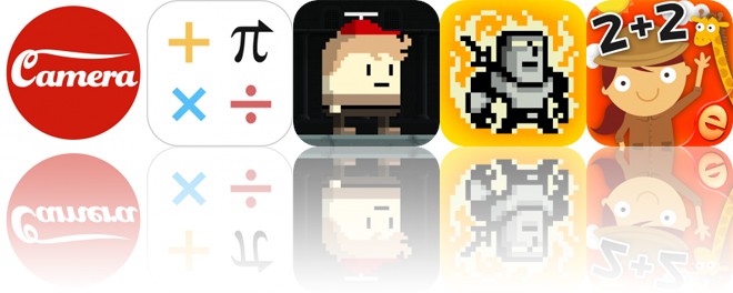 Today's Apps Gone Free: Red Dot Camera, CALC Swift, Owen's Odyssey and More