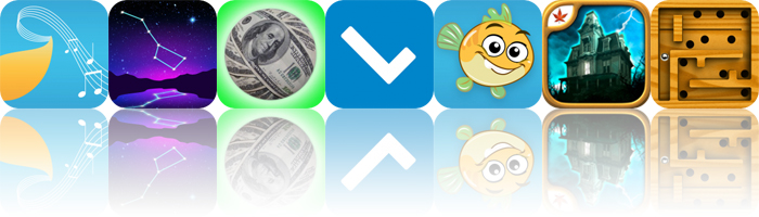 Today's Apps Gone Free: Musical Paint, Starlight, Debt Snowball and More