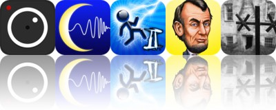 Today's Apps Gone Free: ProCam 3, Sleep Better, Tesla Wars II and More