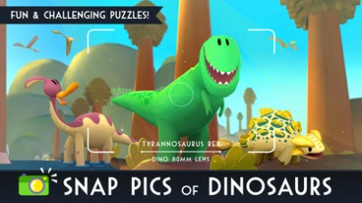 Snap Pics of Legendary Dinos in Jurassic GO