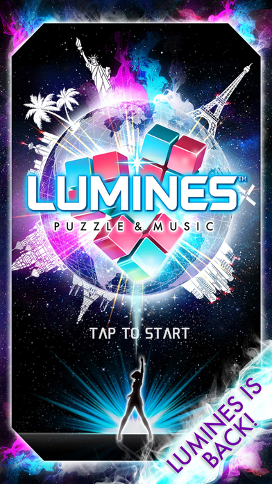 Match Tiles to the Beat in Lumines Puzzle & Music