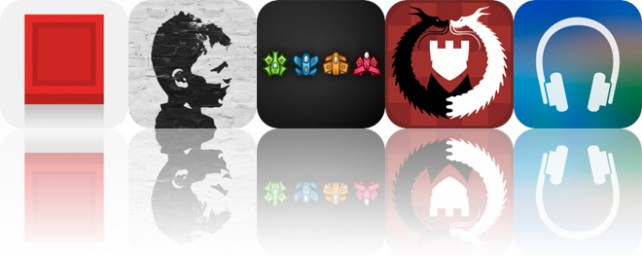 Today's Apps Gone Free: Blicke, Fotoffiti, Four and More