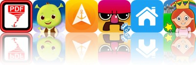 Today's Apps Gone Free: Save2PDF, Shrek and Friends, Anchor Pointer and More