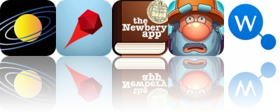 Today's Apps Gone Free: Universe Simulator, Deflecto, The Newbery App and More