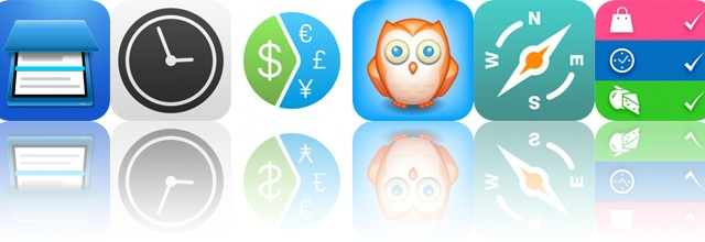 Today's Apps Gone Free: Smart PDF Scanner, Work Time, Coinverter and More