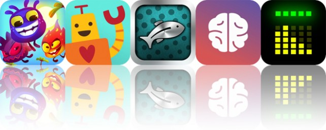 Today's Apps Gone Free: Mighty Adventure, Sago Mini Robot Party, Fishbox and More