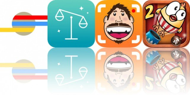 Today's Apps Gone Free: LoryStripes, Split Wizard, BendyBooth and More