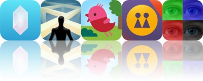 Today's Apps Gone Free: Crystal, Crooked Path, Sago Mini Forest Flyer and More