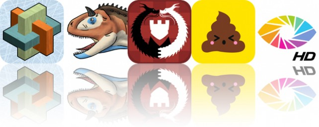 Today's Apps Gone Free: Interlocked, Pose and Draw Dinosaurs, Kamisado and More