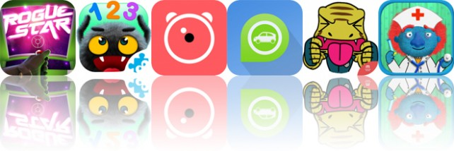 Today's Apps Gone Free: Rogue Star, Yum-Yum Numbers, Alarmy and More