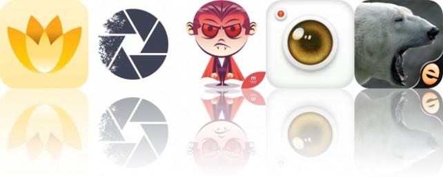 Today's Apps Gone Free: Magic Flowers, Multiple Exposure, Funny Dracula and More
