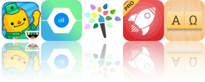 Today's Apps Gone Free: Toca Life: Town, GeoTrend, Paintlogue and More