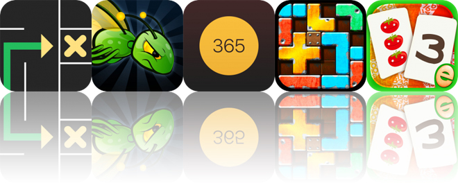 Today's Apps Gone Free: Mazy, Light the Night, Days and More