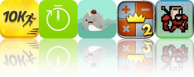 Today's Apps Gone Free: 10K Runner, Timer, Narwhal Sticker Pack and More