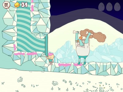 Eggggg is an Imperfect and Disgustingly Cute Platformer