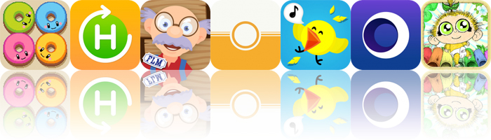 Today's Apps Gone Free: Donut vs Donut, Daily Habits, Grandpa's Workshop and More