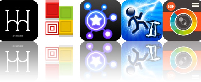 Today's Apps Gone Free: Hiversaires, Blicke, Dream-X and More
