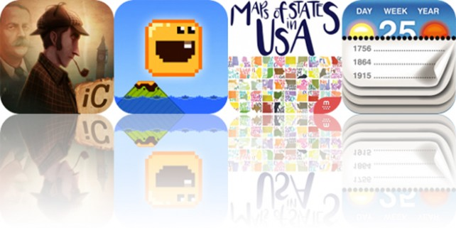 Today's Apps Gone Free: The Interactive Adventures of Sherlock Holmes, Calendarium, Baby Lava Bounce and More