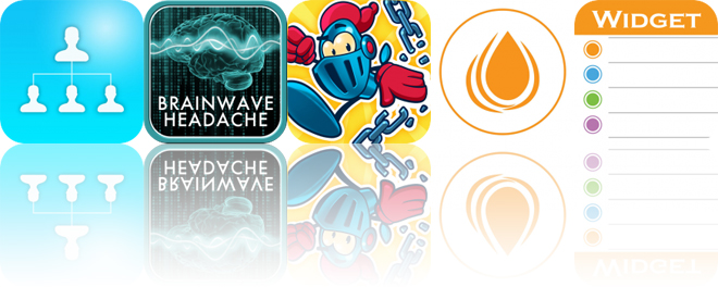 Today's Apps Gone Free: OrgChart, Brain Wave Headache Relief, Chain Breaker and More