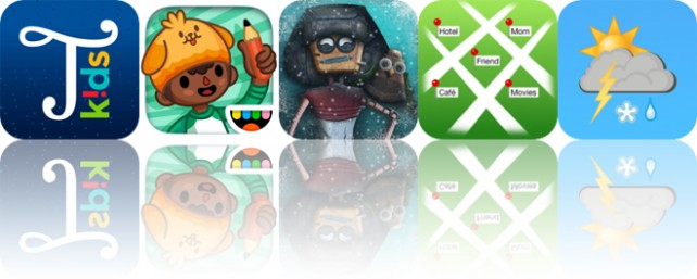 Today's Apps Gone Free: Typic Kids, Toca Life: School, Machineers and More