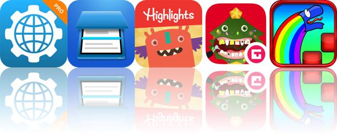 Today's Apps Gone Free: Network Utility, Smart PDF Scanner, Highlights Monster Day and More