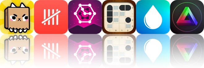 Today's Apps Gone Free: Paper Bag Cat, Trivit, Glow Puzzle and More